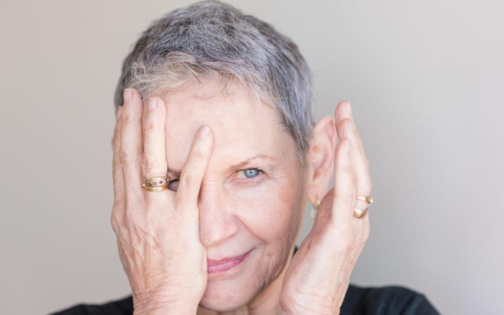 older lady glaucoma